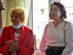prezes Ispiny Cecylia Frajtag oraz artystka Lucyna Sławińska-Targosz