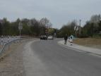 Odbudowany odcinek drogi, fot. Dziennik Polski