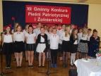 XII Gminny Konkurs Pieśni Patriotycznej i Żołnierskiej w Nowej Wsi