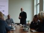 Spotkanie projektowe wokół Centrum Usług Społecznych