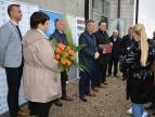 konferencja prasowa - otrzymanie promesy na dokończenie budowy SP w Dziekanowicach