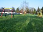 Obecny plac zabaw na osiedlu Jagiellońskim