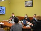 spotkanie w sprawie organizacji punktu szczepień powszechnych w Dobczycach