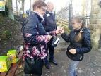 kwesta przy cmentarzu Jeleniec, fot. Dobczycki Portal Informacyjny
