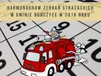 baner - harmonogram zebrań jednostek OSP na 2019 rok