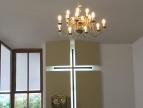 Kaplica z nowym oświetleniem
