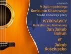 Duet gitarowo-klarnetowy Jan Jakub Bokun & Jakub Kościuszko w Dobczycach - plakat informacyjny
