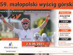 59. małopolski wyścig górski - plakat
