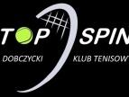 Logo Dobczyckiego Klubu Tenisowego TOP SPIN