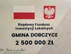 promesa dla Gminy Dobczyce z Rządowego Funduszu Inwestycji Lokalnych