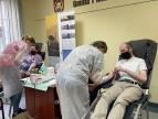 13,5 litra krwi oddano dziś w Dobczycach