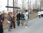 ogrodzenie działki przy OSP Bieńkowice