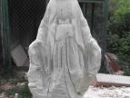 """wykonanie rzeźby Madonny do groty w lipie """"Marysieńka"""""""