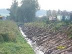 Regulacja rowów w Dobczycach