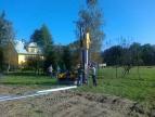 2014-10-10 Budowa instalacji fotowoltaicznej dla oczyszczalni ścieków w Dobczycach