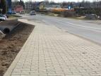Budowa chodnika wzłuż ulicy Myślenickiej