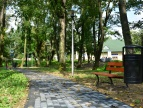 Modernizacja parku nad Rabą