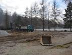 2019-02-01 Rozpoczęcie budowy parkingu przy ul. Podgórskiej fot. J. Talaga