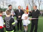 Budowa kompleksu boisk sportowych Orlik 2012 w Dobczycach