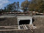 Budowa przepustu w Stadnikach