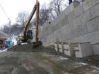 Stabilizacja osuwiska przy cmentarzu Jeleniec w Dobczycach