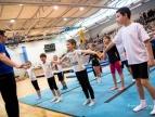 Pokaz gimnastyczny w Dobczycach 2014