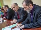 Podpisanie umów z przedstawicelami gmin Siepraw i Myślenice - 27.03.2014 r.
