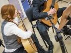 Szkoła Muzyczna z Dobczyc zagrała koncert