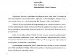 Pismo od Posła na Sejm - Jarosława Szlachetki