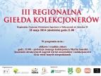 Plakat - III Regionalna Giełda Kolekcjonerów