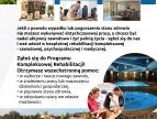 plakat informacyjny o rehabilitacji kompleksowej