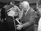 1995 rok - Fritz Holtkamp na Rynku w Dobczycach