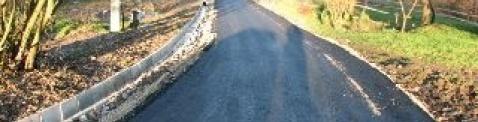Remont drogi gminnej w Niezdowie