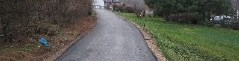 Remont drogi w Bieńkowicach