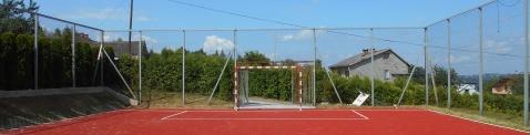 modernizacja boiska w Skrzynce