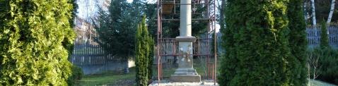 renowacja kapliczki w Stojowicach