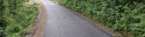 modernizacja drogi w Rudniku