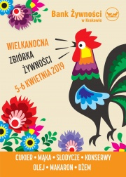 plakat - Wielkanocna Zbiórka Żywności