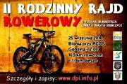 II Rodzinny Rajd Rowerowy - plakat