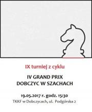 IX turniej z cyklu IV Grand Prix Dobczyc w szachach