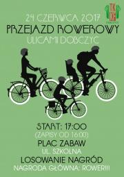 przejazd rowerowy ulicami Dobczyc