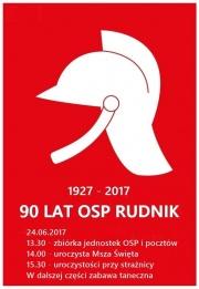 90 lat OSP Rudnik