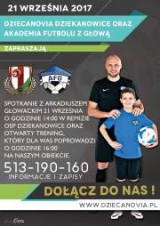 Trening z Arkadiuszem Głowackim