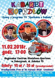 plakat - kabaret z Kopydłowa