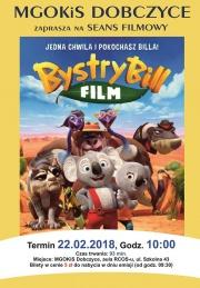 """Plakat filmu """"Bystry Bill"""""""