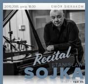 plakat - recital Stanisława Sojki