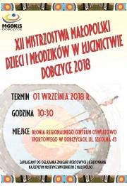 XII Mistrzostwa Małopolski Dzieci i Młodzików w Łucznictwie