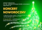 plakat - koncert noworoczny w Kornatce