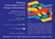 Wystawa Klubu Malarzy ZPAP Okręgu Krakowskiego  - plakat