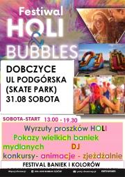 plakat - Festiwal baniek i kolorów